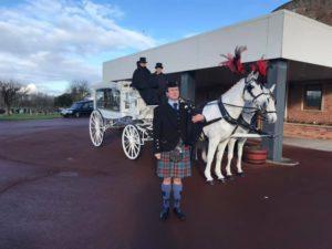 Bagpiper for Funerals in Cumbria