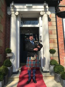Scottish Bagpipes for Wedding in Wigan, Lancashire