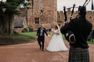 Wedding Bagpipes in The Lake District